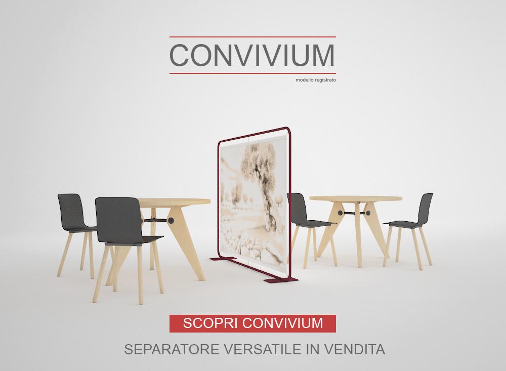 CONVIVIUM - Pannello Separè per Ristoranti